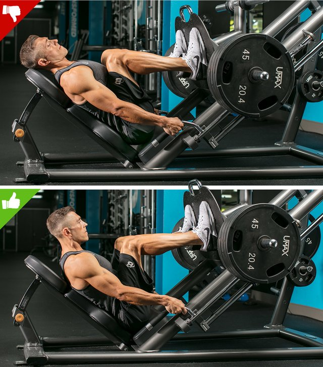 The 6 Biggest Leg Press Mistakes Solved: Lowering The Sled Too Far
