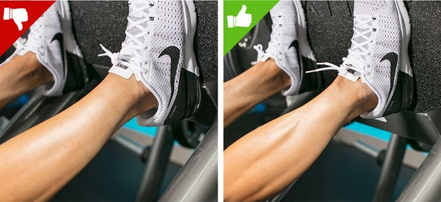 The 6 Biggest Leg Press Mistakes Solved: Not Having Your Heels On The Sled