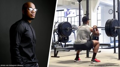 How Ne-Yo's Trainer Puts The Performer Through His Paces