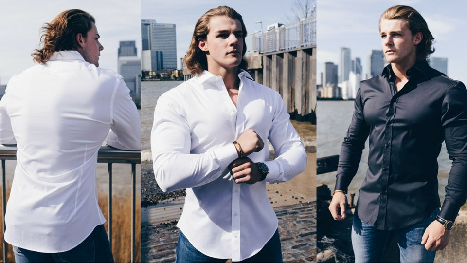 The Bodybuilder 39 S Guide To Picking Dress Shirts