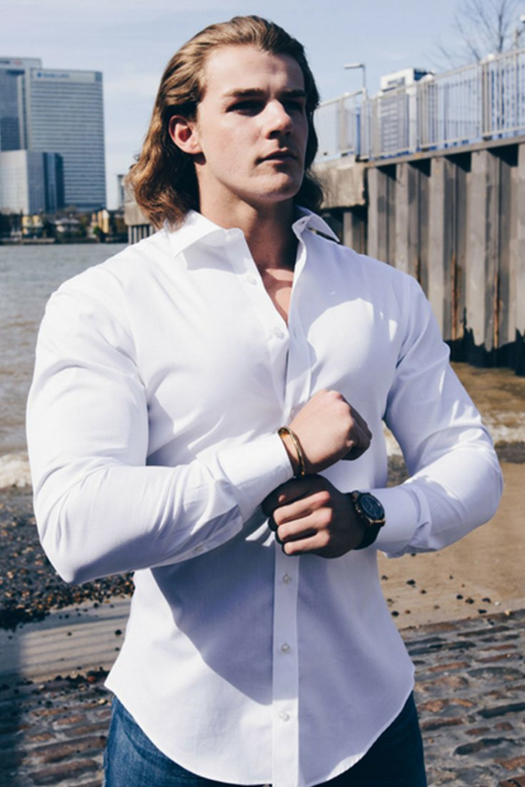 cf54b1e2 The Bodybuilder's Guide To Picking Dress Shirts