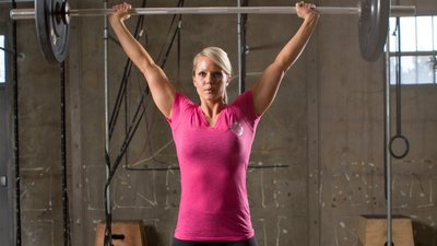 Nicole Wilkins' Olympian Shoulder Workout