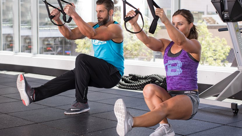 The 5 Best Suspension-Trainer Moves For Legs