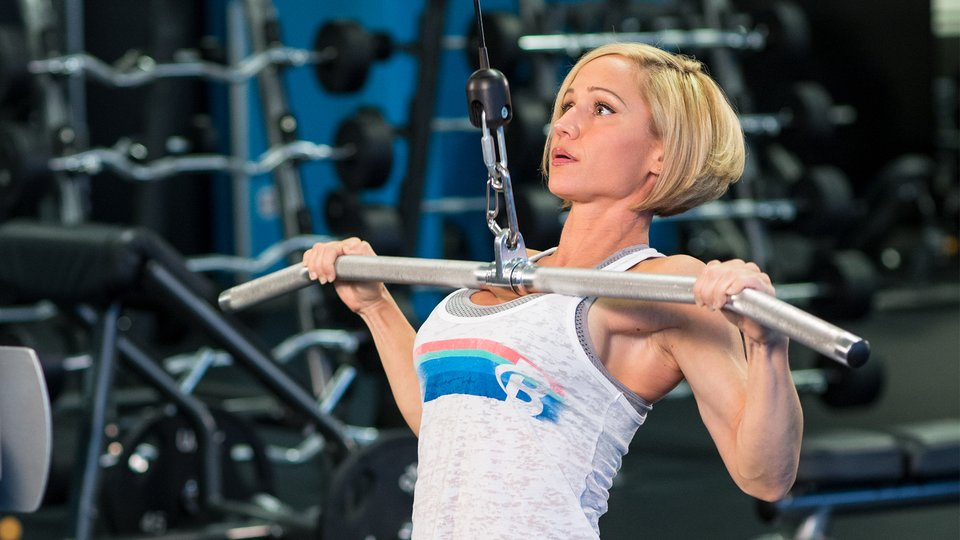 Are You Tough Enough For Jamie Eason's Classic Back-And-Biceps Routine?