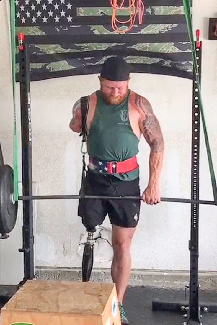 Double Amputee Jared Bullock Hits The Bodybuilding Stage