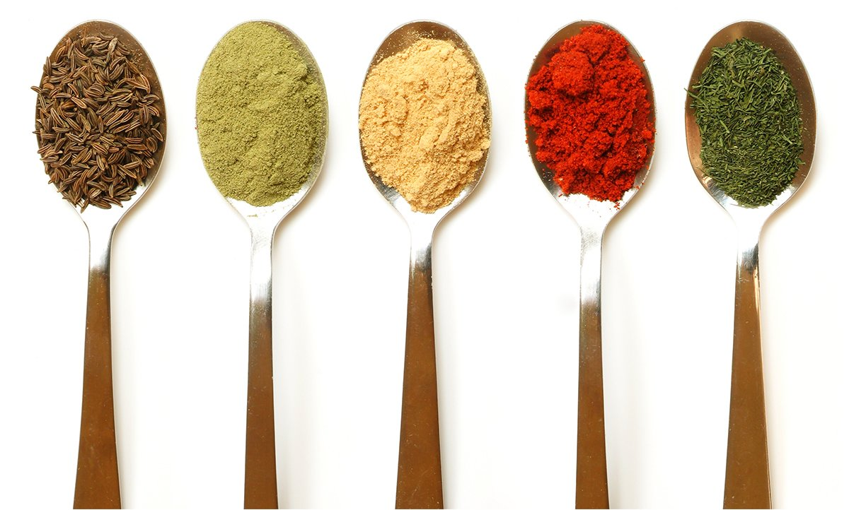 Think Spices, Not Sauces