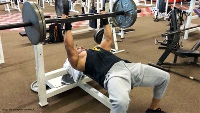 How The Rock Makes A 275-Pound Bench Go A Long Way