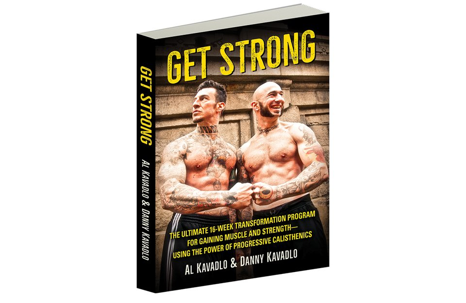 Get Strong: The Ultimate 16-Week Transformation Program for Gaining Muscle and Strength Using the Power of Progressive Calisthenics, was recently released, and the brothers let us in on their vision of a stronger world.