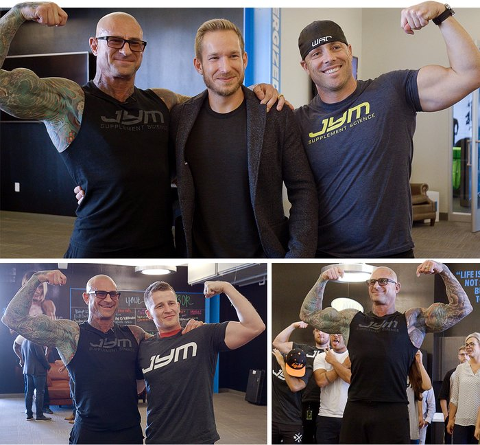 Jim Stoppani Comes Home To Bodybuilding.com