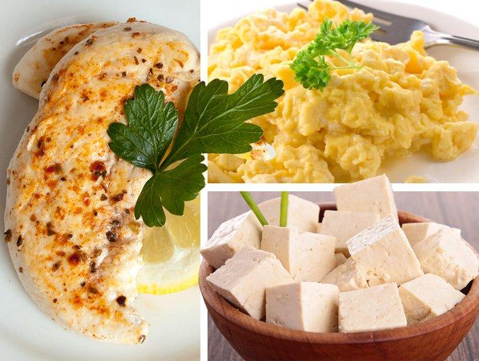 Plan de nutrición del hombre de hierro: proteína