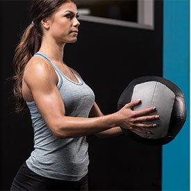 Medicine-ball rotation