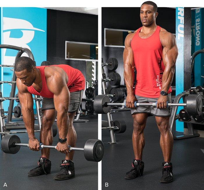 Esta combinación proporcionará una gran bomba y aliviará el estrés metabólico que ayuda a descomponer los músculos, obligándolos a crecer más.