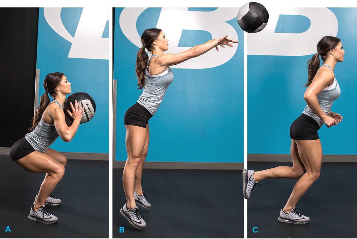 The Ultimate Medicine-Ball Workout