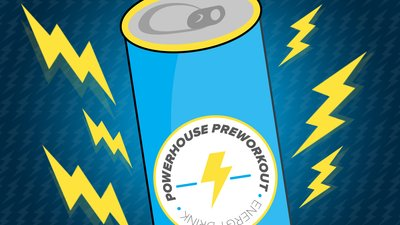 Transform Your Energy Drink Into A Powerhouse Pre-Workout!