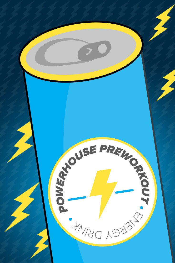 Transform Your Energy Drink Into A Powerhouse Pre-Workout! |  Bodybuilding.com
