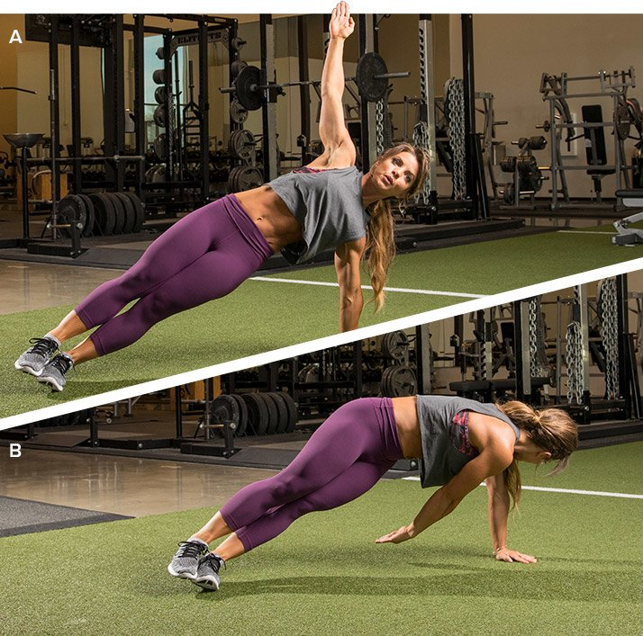 5 Ways To Make Your Planks Harder And More Effective!