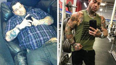 First, Joey Got Skinny. Then He Got Fit.