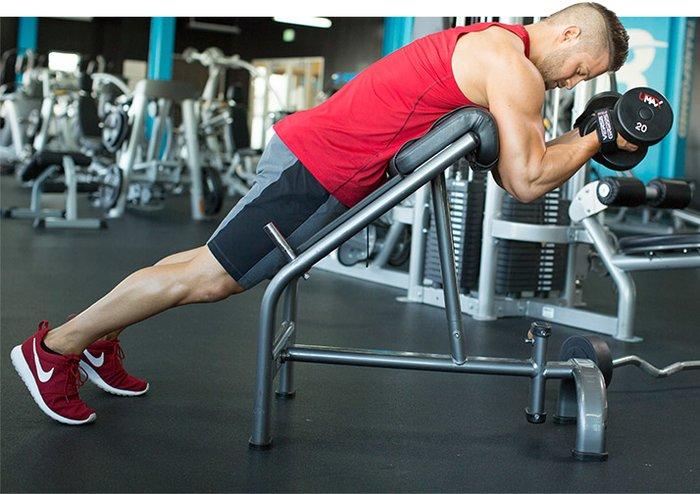 Mike Hildebrandt's Superset Arm Workout