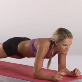 Plank up/down