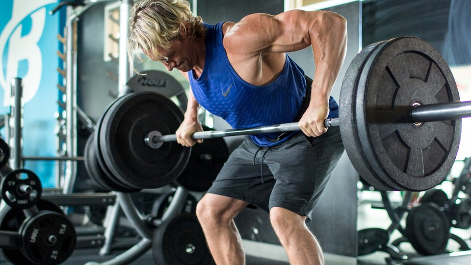 Shaun Stafford's Wave-Load Back Workout