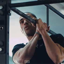 Shoulder-to-shoulder pull-up
