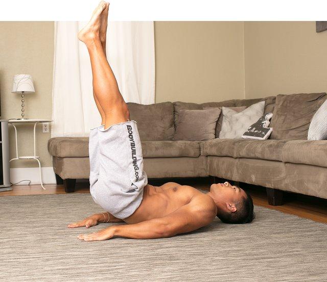 TV ab workout