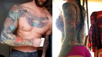 12 Insanely Inked Fit Bodies