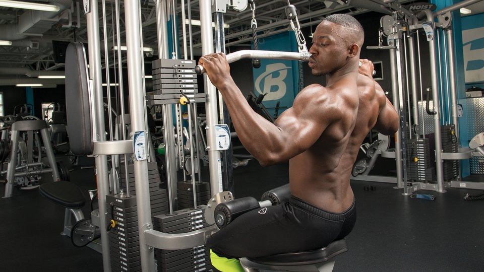Lat Pull-Down Exercise Variations For A Wider Back