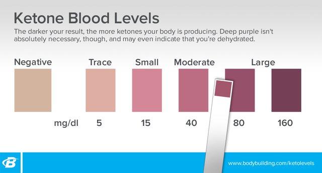 Ketone Blood Levels
