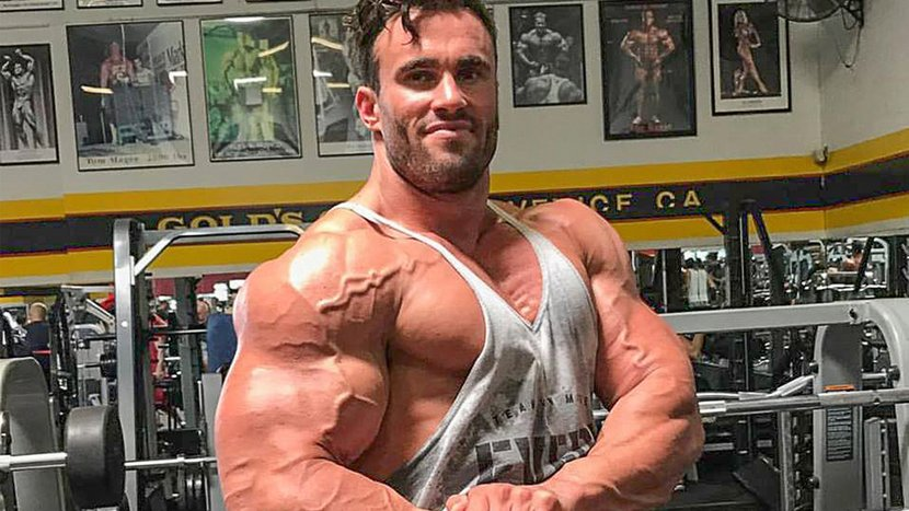 Calum von Moger's Shoulder Finisher