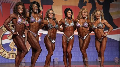 bodybuilding competition women Female