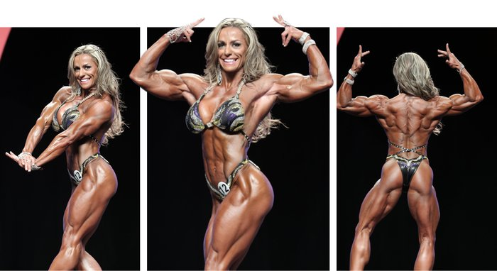 competition Female women bodybuilding