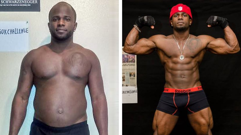 Vernon Dropped 50 Pounds In Less Than A Year At Age 32!