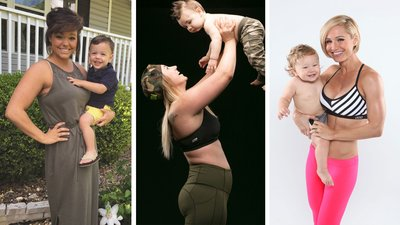 10 Moms Who Make Fitness A Family Affair