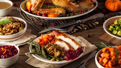 A Thanksgiving That Won't Make You Fat