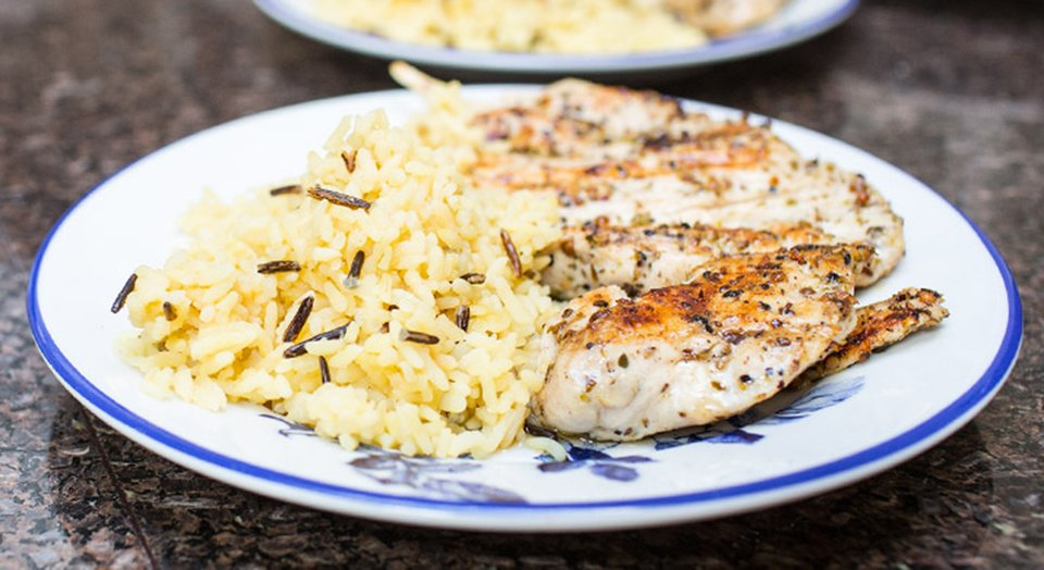 FreakMode Recipes: Chicken Breast And Brown Rice