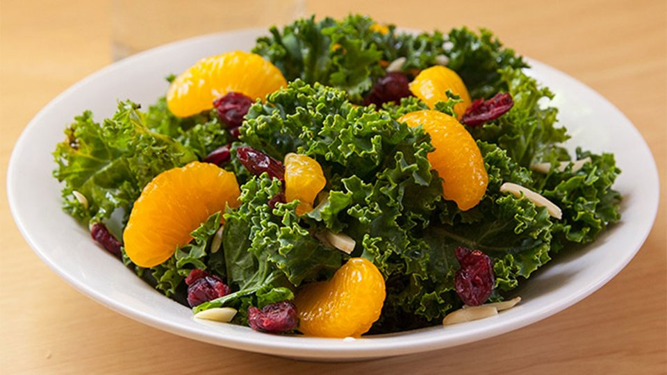 Mandarin And Kale Salad
