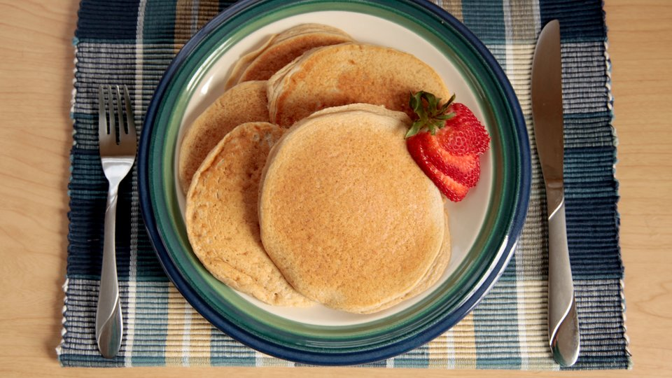 Jamie's Pumped-Up Pancakes