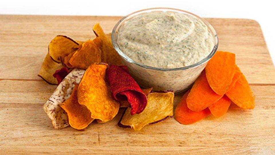 Ranch-Style Hummus