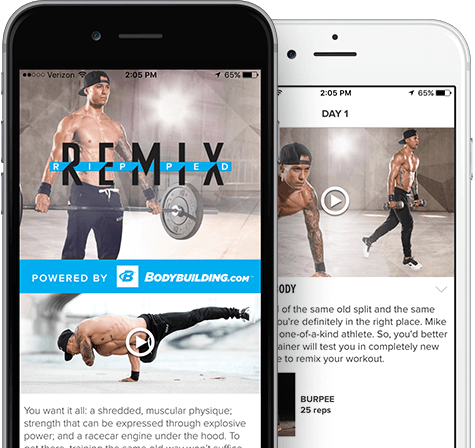 Ripped remix subscribe to get the app fandeluxe Images