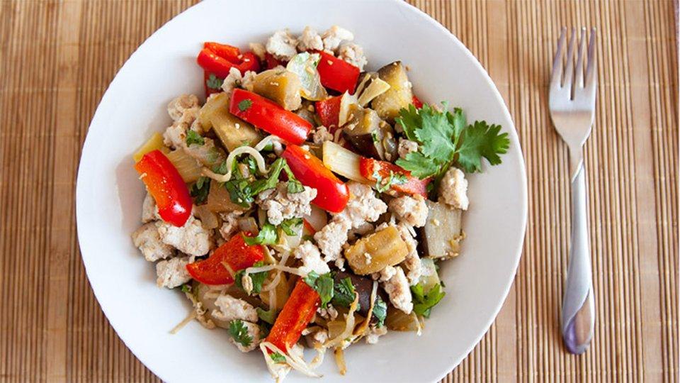 Spicy Turkey Stir-Fry