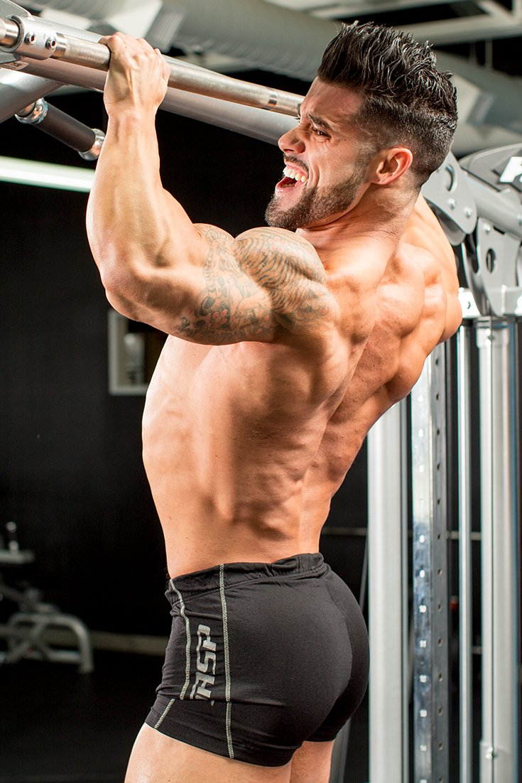 Muscle size building workouts
