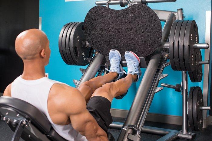Levantamiento de pantorrillas de prensa de piernas