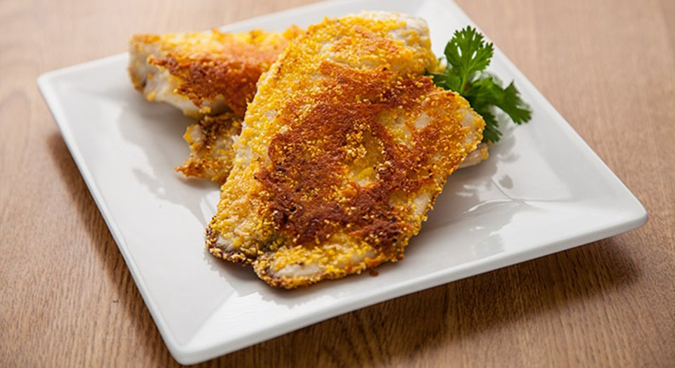 FreakMode Recipes: Parmesan-Crusted Tilapia Fillets