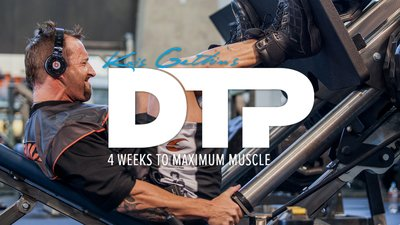 Kris Gethin's DTP: 4 Weeks To Maximum Muscle mobile header image