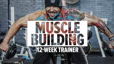 Kris Gethin's 12-Week Muscle-Building Trainer mobile header image