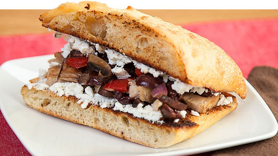 Mediterranean Sandwiches
