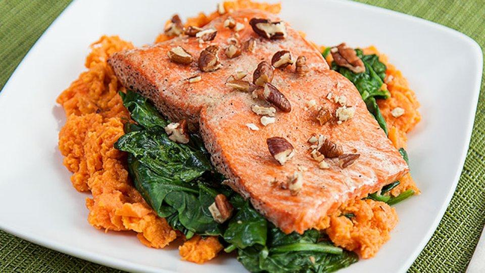 Sweet Potato Salmon