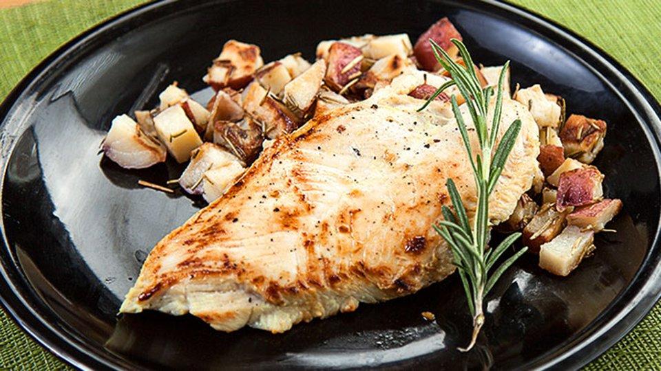 Turkey Tenderloins And Rosemary Potatoes