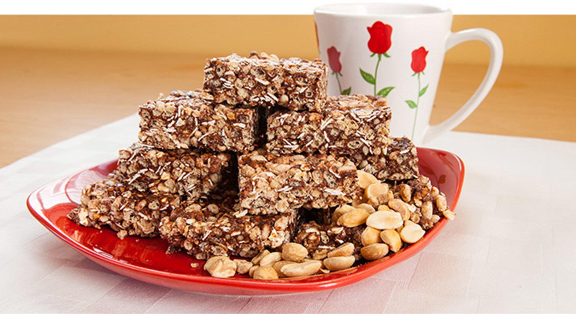 Jamie Eason's Chocolate Peanut Butter Protein Crisp